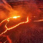 صورة لبركان إرتا ألي في أثيوبيا..