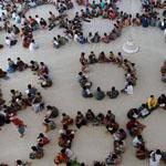 حلقات تعليم القرءان الكريم فى اندونسيا