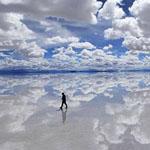 أكبر صحراء ملح في العالم موجودة في بو...