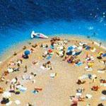 شاطئ جزيرة براك Beach Brac في كرواتيا...