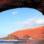 شاطئ لوجزير ، المغرب
