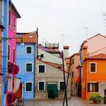 بلدة بورانو الرائعة متعددة الألوان بإيطاليا !