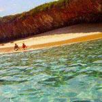 الشاطئ الخفي في جزر ماريتا المكسيك