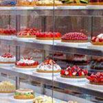 متجر رائع للكعك في أوساكا في اليابان.
