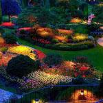 حدائق بوتشارت الرائعة في ولاية فيكتور...