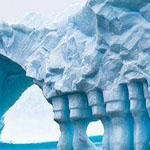 جبل جليد , القارة القطبية الجنوبية