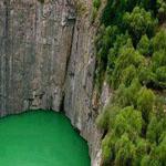 حفرة كبيرة في كيب الشمالية جنوب أفريقيا