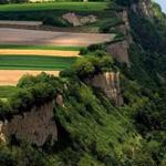 صورة رائعة للحقول الزراعية على ضفة نهر الدانوب في صربيا !