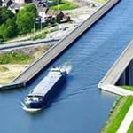 الجسر المائي في هامبورغ المانيا