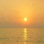 شروق الشمس في اليونان
