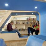 .. احدى المكتبات العامة فى النرويج