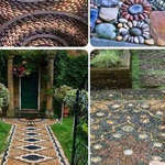 تصاميم لمداخل حدائق بيتيه رائعة
