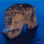 صخرة الروشة في بيروت
