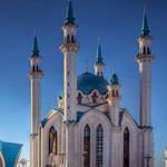 مسجد كول شريف روسيا رووووعة  الله اكبر