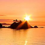 شروق الشمس الجميل