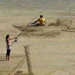 ابداع على الرمال
