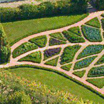 احد الحدائق الرائعه بفرنسا