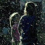 ما اجمل لحظة اللقاء مع الأصدقاء بالمطر