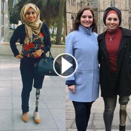 تعرفوا على الشابة العراقية التي تحدت إعاقتها بسبب دموع والدتها!