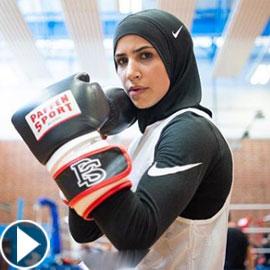 بالفيديو: بطلة الملاكمة المحجبة زينة نصار: لا أسمح لأحد أن يهزمني!