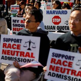 جامعة هارفارد امام فضيحة عنصرية