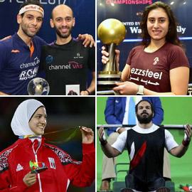 10 أبطال تفوقوا في الرياضة: منهم المرأة الحديدية، الفراشة والشقيقان