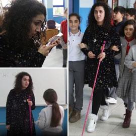 المعلمة الضريرة زينب تضئ حياة طلابها وتثبت انها اقوى من الإعاقة!