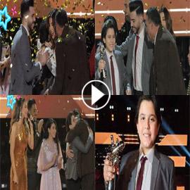 فيديو وصور: ذا فويس كيدز: الفائز السوري محمد إسلام رميح (مع نانسي  ..