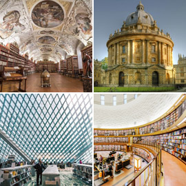 بالصور: تعرفوا إلى 15 من أفضل وأجمل المكتبات في العالم