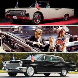 صور: بيع السيارة المشؤومة التي استقلها الرئيس كينيدي يوم اغتياله بمزاد
