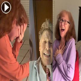 فيديو مؤثر: كيف فاجأ نجم عالمي احدى معجباته المصابة بالزهايمر؟
