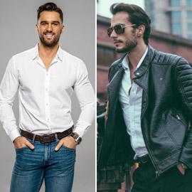 طرق مختلفة لارتداء القميص الأبيض وتنسيقه مع الجينز والحذاء المناسب
