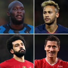 بالصور: تعرفوا إلى أكثر 10 لاعبين تسجيلا للأهداف في عام 2020