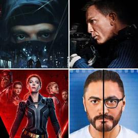 جيمس بوند وأحمد السقا يعودان بقوة.. هذه أبرز أفلام 2021 العربية  ..