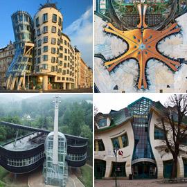بالصور: تعرفوا إلى مبان غريبة بتصميمات فريدة وخيالية حول العالم