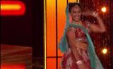 موهبة الرقص لملكة جمال أمريكا نينا دافولوري بوليوود