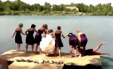 طرائف ممتعة من حفل الزفاف